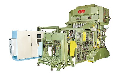 Automatic CNC Sheet Feeding Press (double row multiple dies) S-B23E+S-B92+B92C