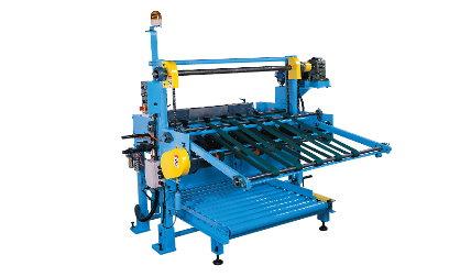 Automatic sheet strip stacker